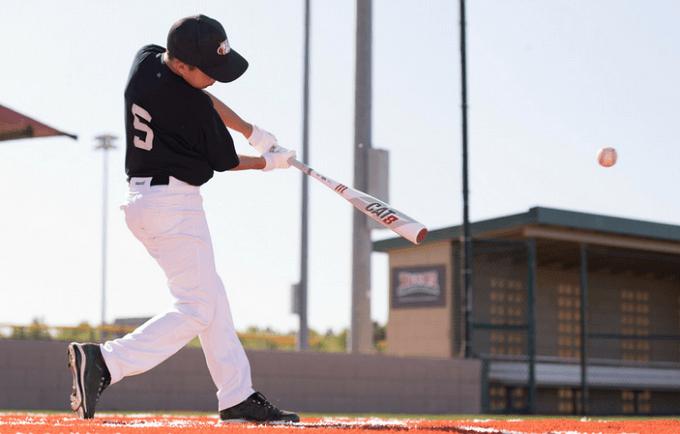 Hitting Baseball Ball