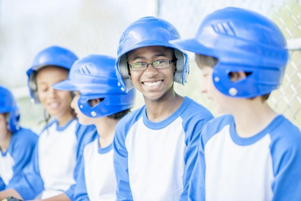 Baseball Glasses Kid