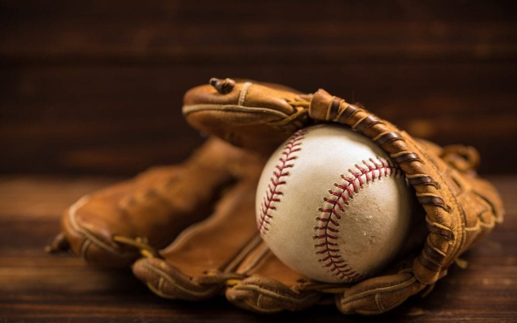 Baseball Glove for two handed catching