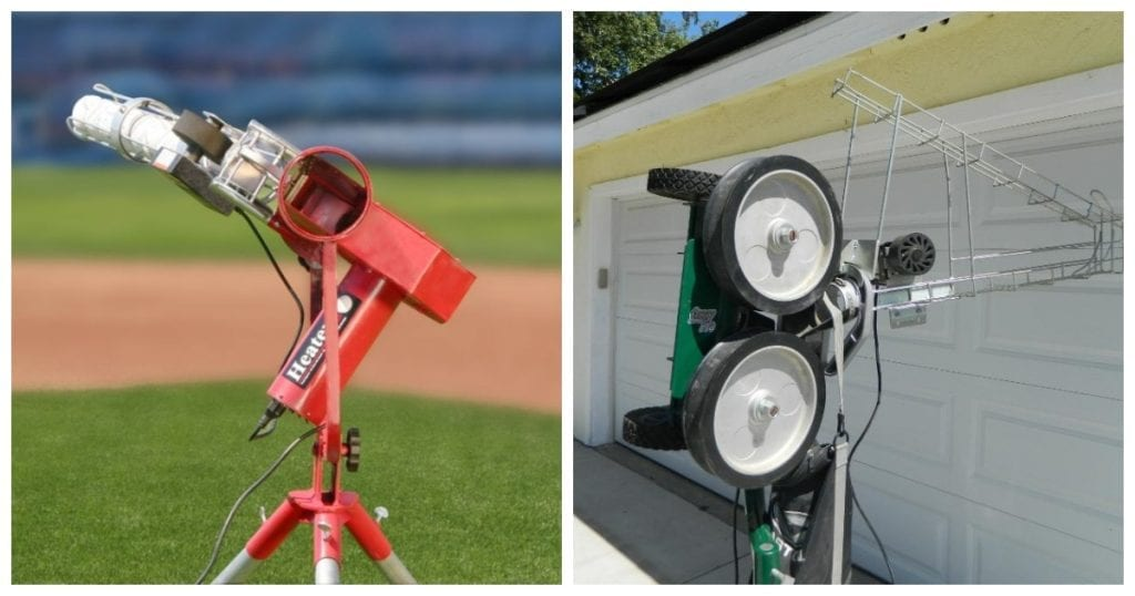 Atec Vs Heater Pitching Machines