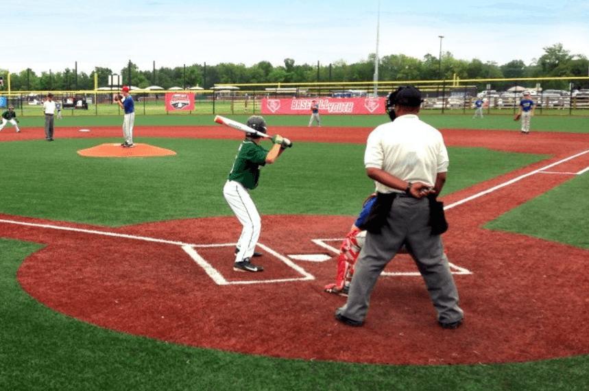 Feet Parallel Baseball Swing