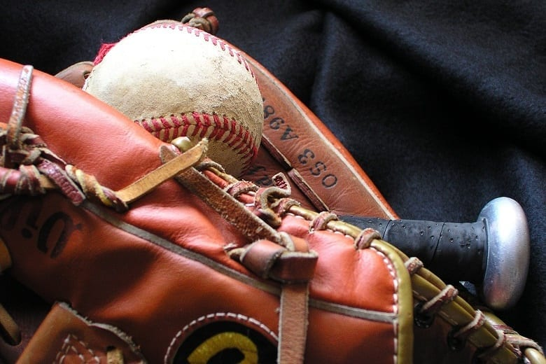 Softball Glove Olds