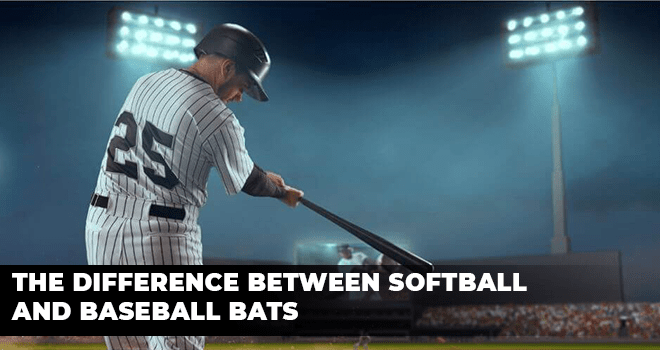 The Difference Between Softball And Baseball Bats