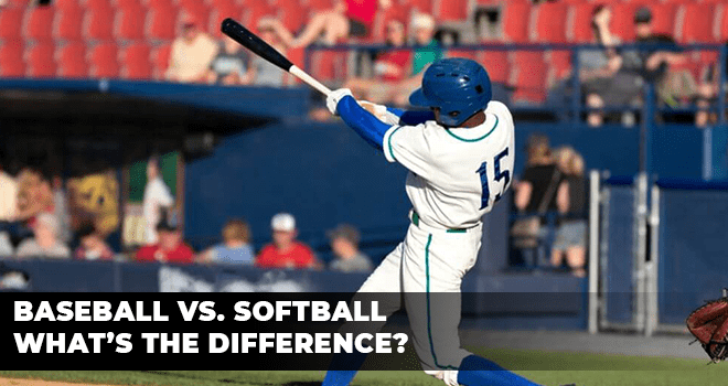 Baseball Vs. Softball What's The Difference