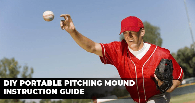 DIY Portable Pitching Mound Instruction Guide