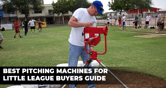 Best Pitching Machines for Little league Buyers Guide