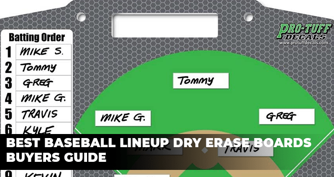 Best Baseball Lineup Dry Erase Boards Buyers Guide
