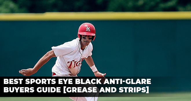 baseball player with eye black applied to his face