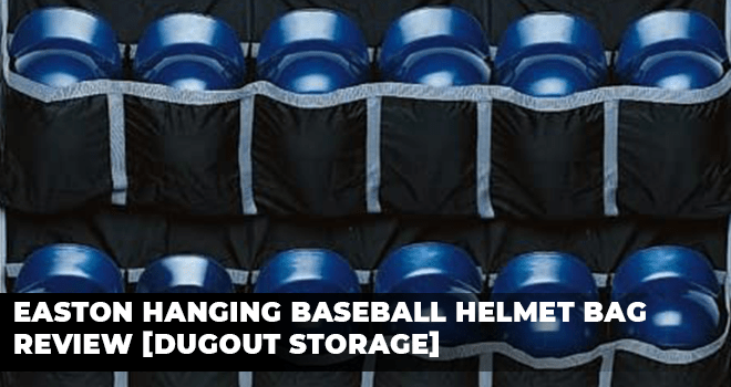 Easton Hanging Baseball Helmet Bag Review [Dugout Storage]